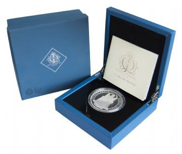 2012 Silver Proof £10 Diamond Jubliee 5oz